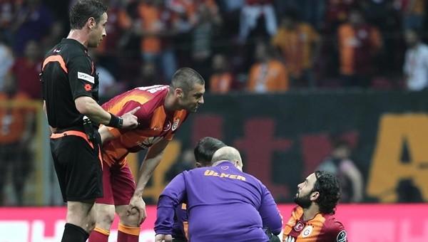 Galatasaray'da derbi öncesi şok sakatlık!