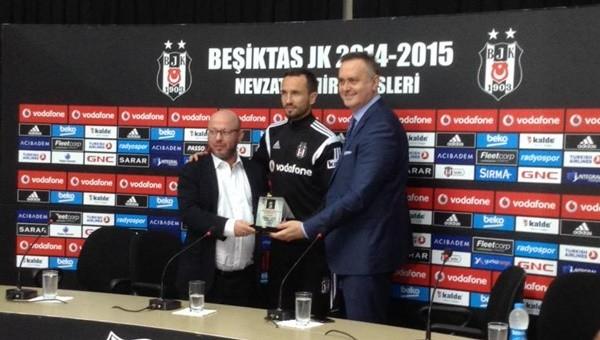 Sivok, Beşiktaş'a veda etti
