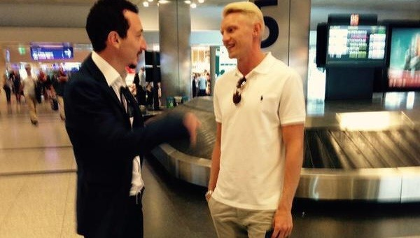 Andreas Beck İstanbul'a geldi