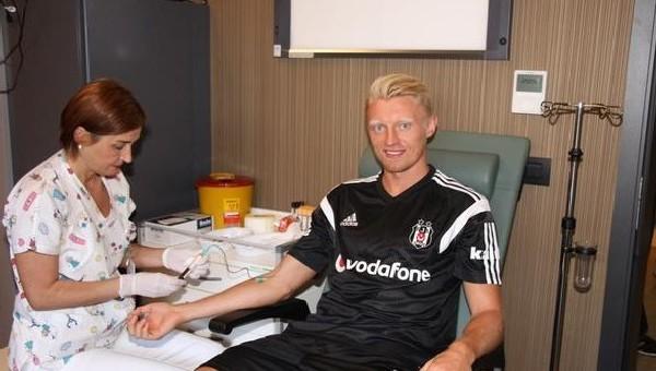 Andreas Beck, sağlık kontrolünden geçti