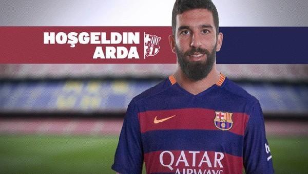 Arda Turan Barcelona tarihine geçti