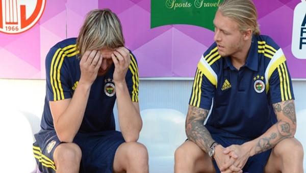 Fenerbahçe Holmen ve Krasic'e yer vermedi