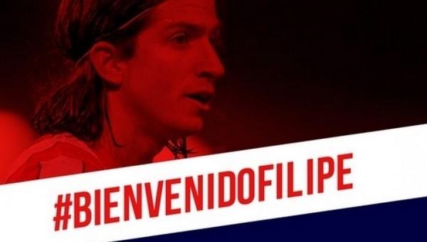 Filipe Luis, Atletico'ya geri döndü
