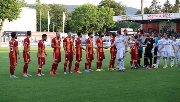Galatasaray ikinci hazırlık maçına çıkıyor