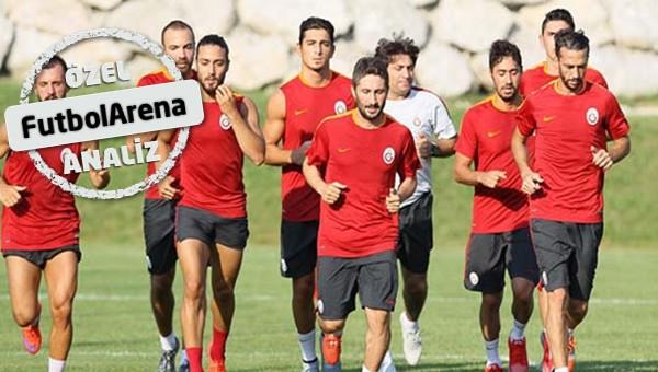 Galatasaray'da kampın enleri!