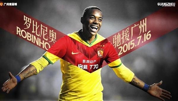 Robinho Çin'e gitti
