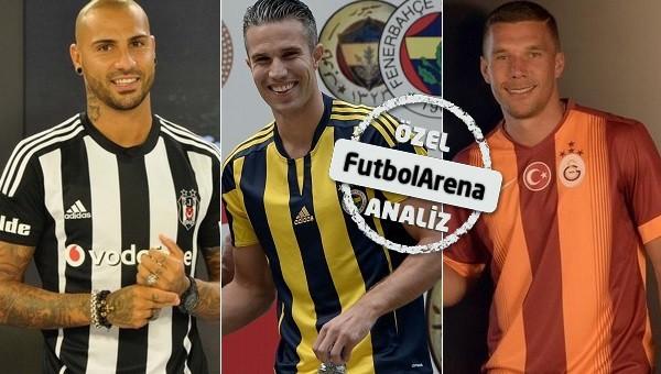 4 büyüklerin transfer analizi