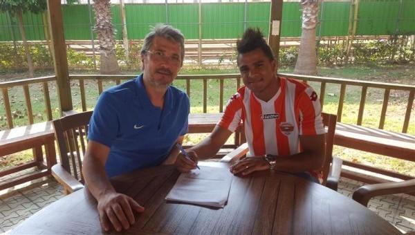 Adanaspor golcüsünü Brezilya'da buldu
