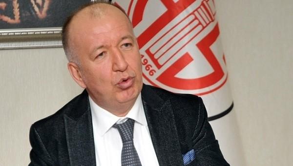 Antalyaspor başkanından hakem isyanı!