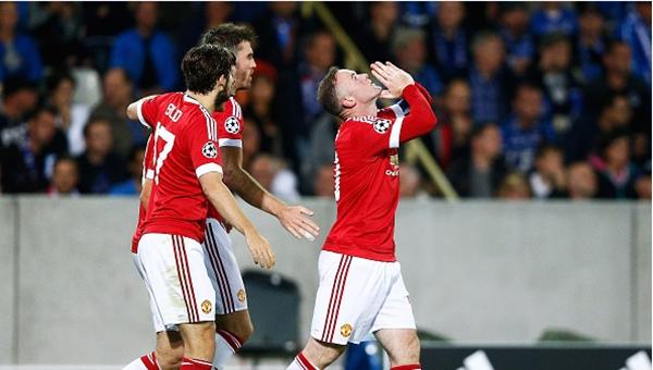 Belçika'da Wayne Rooney'in gecesi