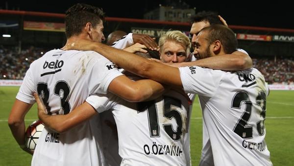 Beşiktaş, Gaziantepspor'u deplasmanda 4-0 yendi