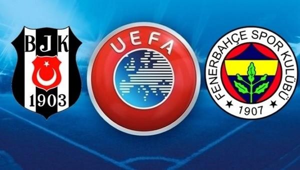 Beşiktaş ve Fenerbahçe'nin rakipleri