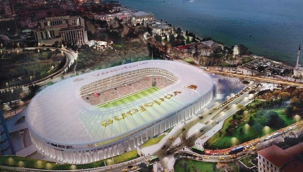 Beşiktaş'a Vodafone Arena sürprizi
