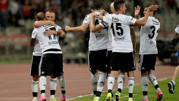 Beşiktaş'ın Gaziantep'le 59. maçı
