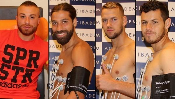 Beşiktaş'ta sağlık kontrolleri