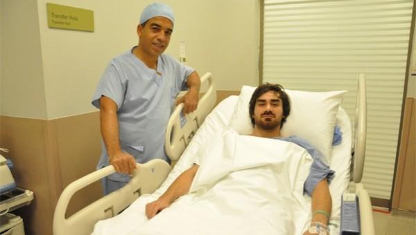 Beşiktaş'ta Veli Kavlak, ameliyat oldu