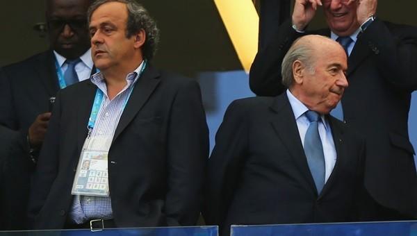 Sepp Blatter'den Michel Platini itirafı
