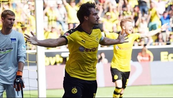 Borussia Dortmund bu kez 3 attı