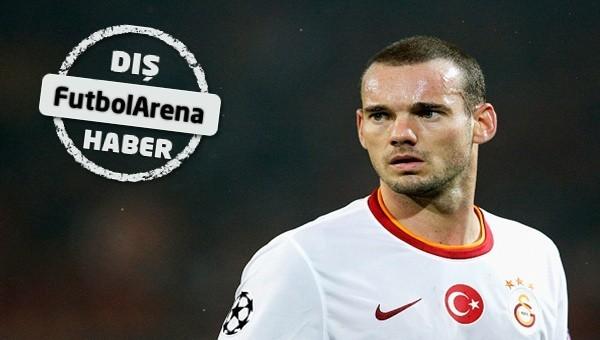 Burak'tan sonra Sneijder!