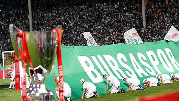 Bursaspor taraftarı Süper Kupa'ya ilgisiz kaldı