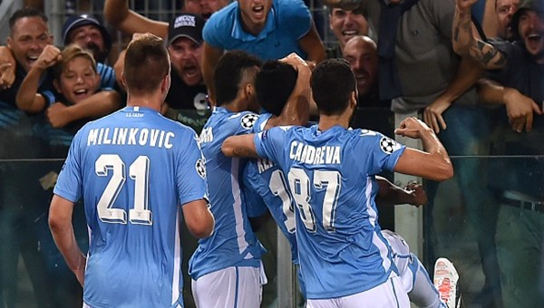 Lazio'dan Bayer Leverkusen'e tek kurşun