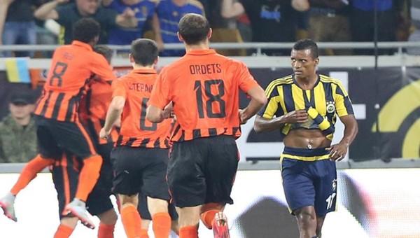 Fenerbahçe, Shakhtar Donetsk'e elendi
