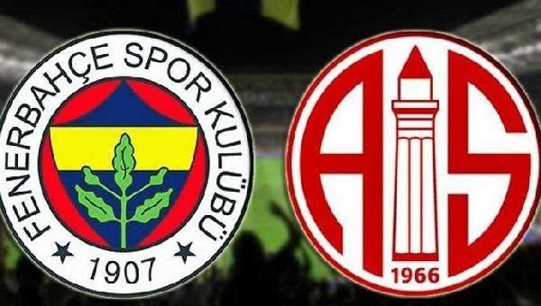 Fenerbahçe ile Antalyaspor 39. kez