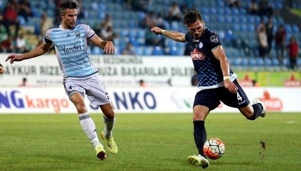 Fenerbahçe, Çaykur Rizespor ile 1-1 berabere kaldı