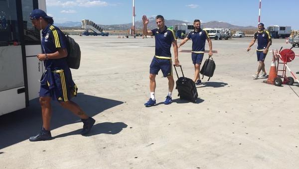 Fenerbahçe, Yunanistan'a geldi