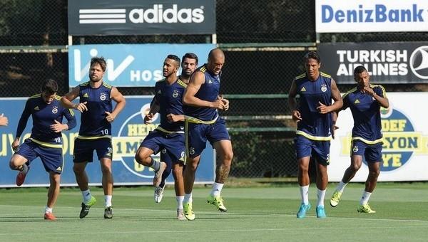 Fenerbahçe'de Atromitos maçı hazırlıkları sürüyor