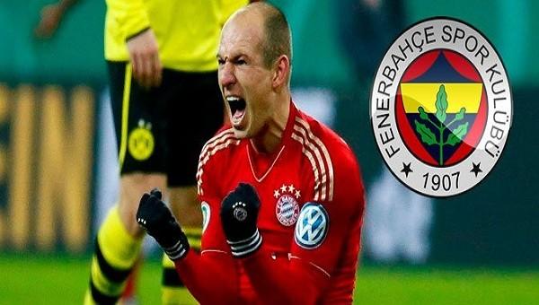 Fenerbahçe'de bomba Robben iddiası!