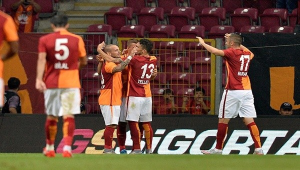 8 Ağustos'taki Süper Kupa öncesi Galatasaray son hazırlık maçına çıktı