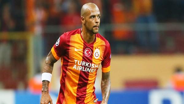 Galatasaray Felipe Melo'yu KAP'a bildirdi