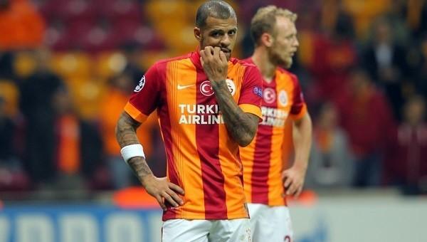 Galatasaray, Melo'suz 17 puan kaybetti