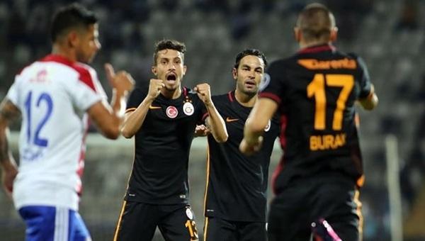Galatasaray, Süper Lig'de mağlubiyeti unuttu