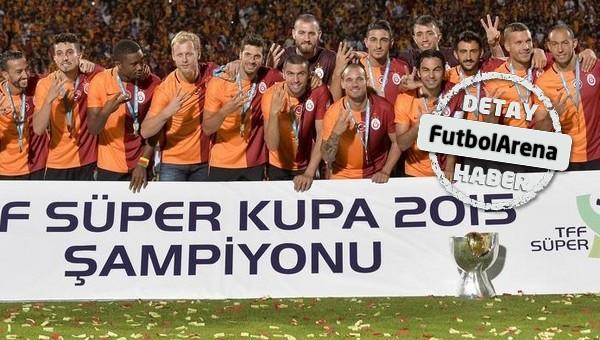Galatasaray Türk futbol tarihine geçti