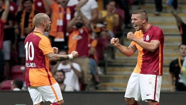 Galatasaray, Inter'i 1-0 yendi