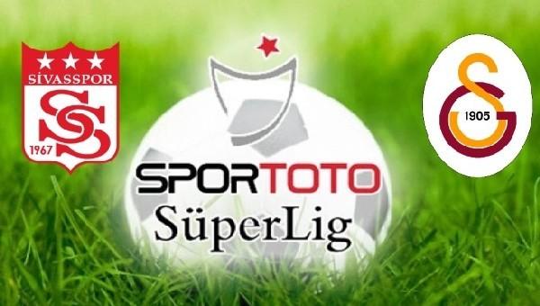 Galatasaray'ın Sivasspor üstünlüğü