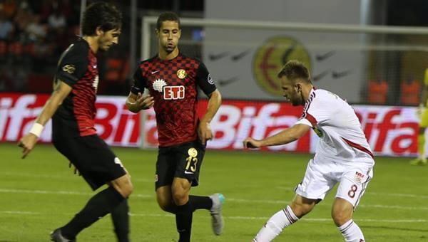 Gekas Sivasspor'u dağıttı: 4-2