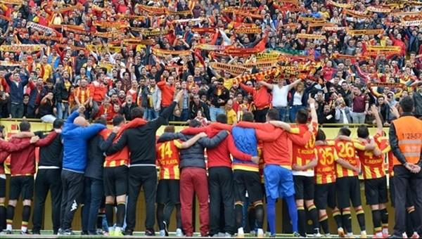 Göztepe'nin stadyum tepki