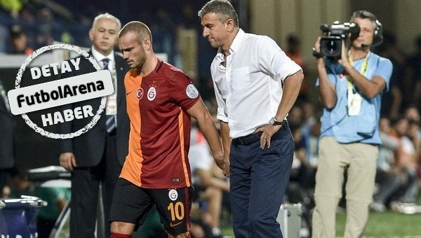 Hamza Hamzaoğlu, Wesley Sneijder'i oynatacak mı?