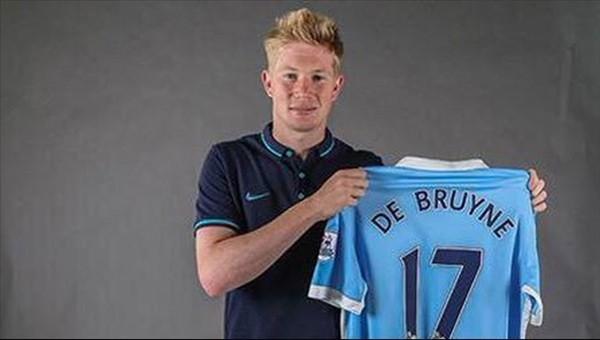 De Bruyne, rekor bonservisle Manchester City'de