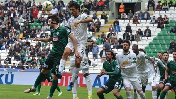 Konyaspor Akhisar'ı ağırlıyor