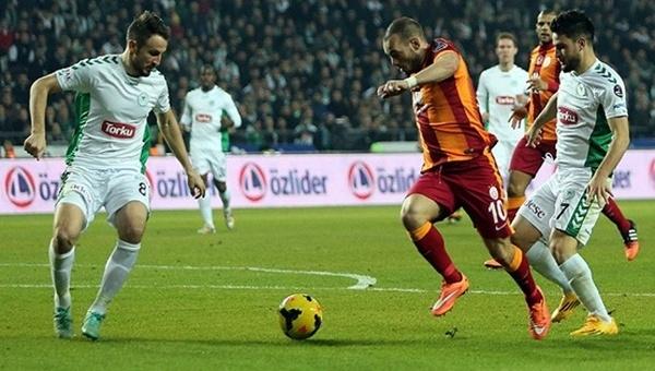 Konyaspor'un Galatasaray kabusu