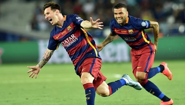 Lionel Messi'den frikik resitali