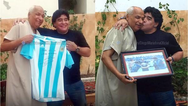 Maradona'dan o hakeme jest