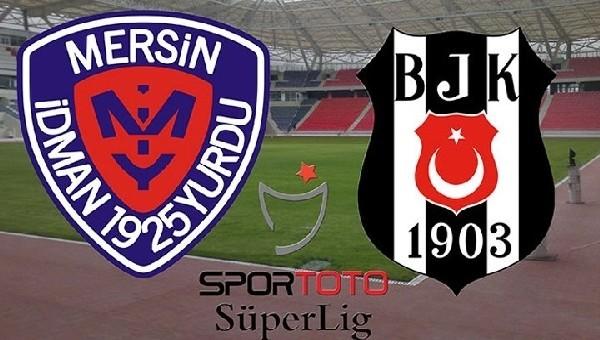 Mersin İdmanyurdu-Beşiktaş maçı biletleri