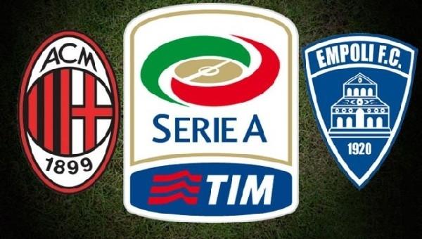 Milan - Empoli maçı hangi kanalda?