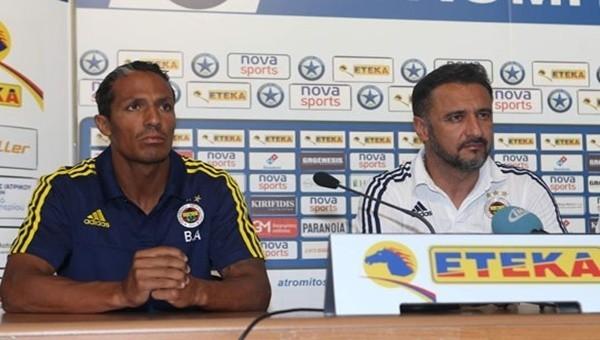 Vitor Pereira'dan Atromitos maçı öncesi basın toplantısı