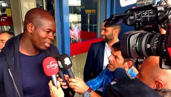Trabzonspor'a transferi iptal olan Samba açıkta kaldı